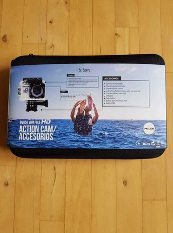 Kamerka sportowa PRIXTON DV650 WI-FI FULL HD z akcesoriami