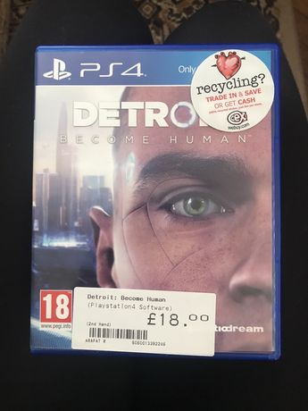 PS4 Detroit:become human game