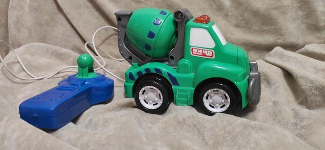 Машинка детская на пульту (бетономешалка)