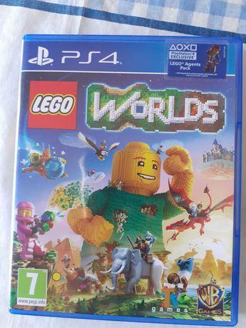 Jogo PS4 Lego Worlds