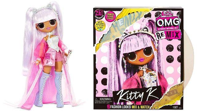 В НАЛИЧИИ! Королева Китти LOL Surprise OMG Remix Kitty K Кукла 567240