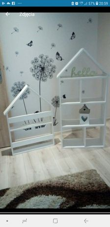 Super komplet domków na ksiazki i na zabawki