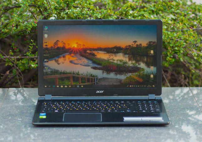 Тонкий Мощный Игровой Ноутбук Acer V5-573G Core i5 SSD 250GB 8GB 4GB-V