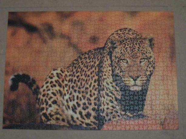 Картина-пазл леопард