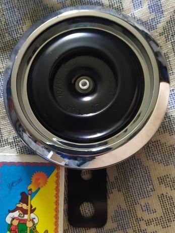 Сигнал мото 12 вольт хром никель