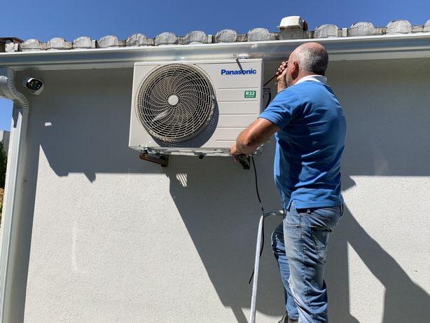 Montagem/instalação/ reparação de Ar condicionados
