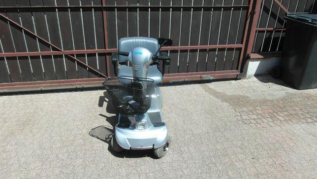 Skuter wózek inwalidzki elektryczny CTM, sprawny, 6 km/h