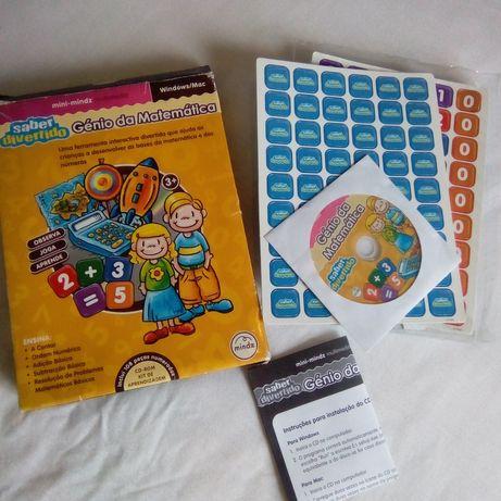 CD ROM sobre matemática 6€