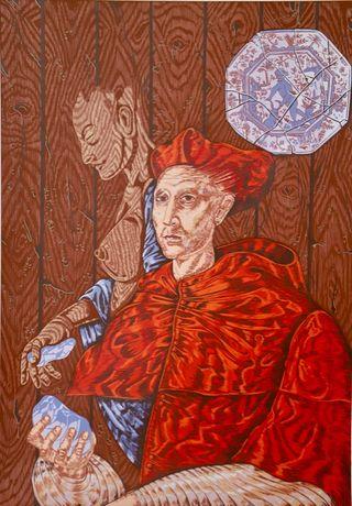 Serigrafia do artista Cohen Fusé