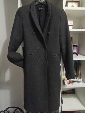 Пальто H&M шерсть S, XS