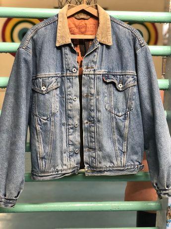 Джиносвка, джинсовая куртка, levis, lev'is