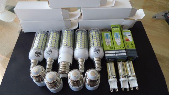 Żarówki LED. Mocne. Dwa zestawy. Nowe.