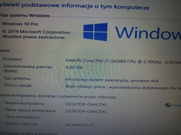 """Laptop do gier autocad i7/4/320/quadro 2gb/15,6"""""""