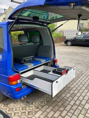 Szuflada zabudowa volkswagen t4 multivan VW