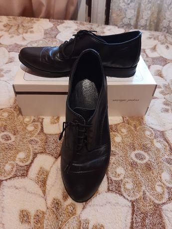 Кожаные туфли женские