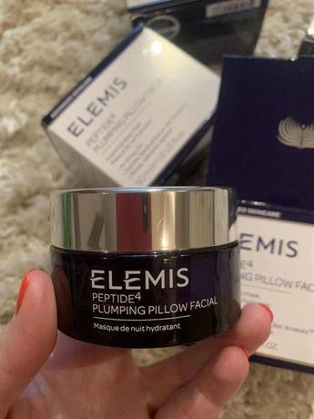 Люксовая ночная крем-маска с пептидами Elemis peptide4 plumping