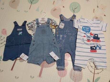 Комбинезоны летние, боди, ромплер, одежда на малыша