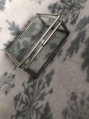 Pudelko na obraczki srebrne
