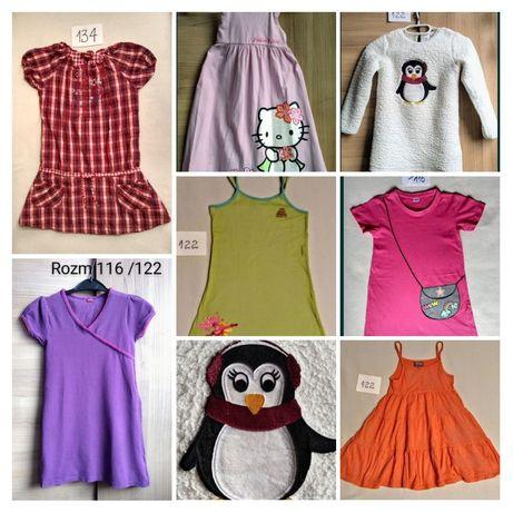 Sukienki dziewczęce r.116-134