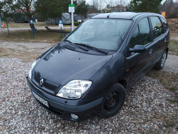 Renault scenic 1.6 automat 5 miejsc