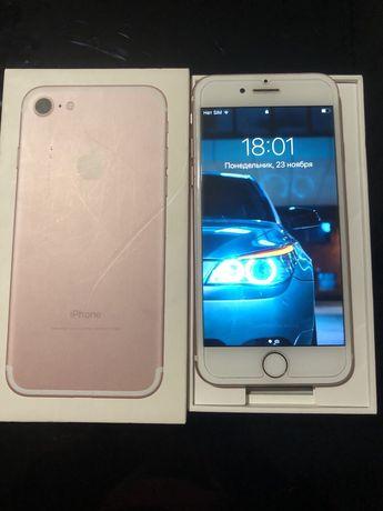 Продам iPhone 7 rose gold 32gb