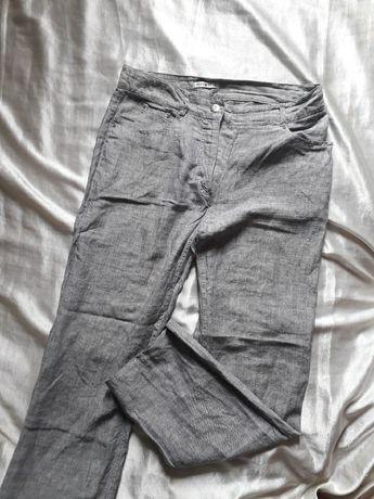 Льняные брюки Италия, штаны лен