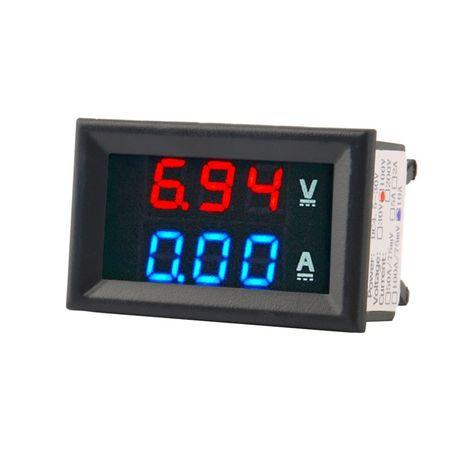 Продам Цифровой вольтметр амперметр до 100В, 10А