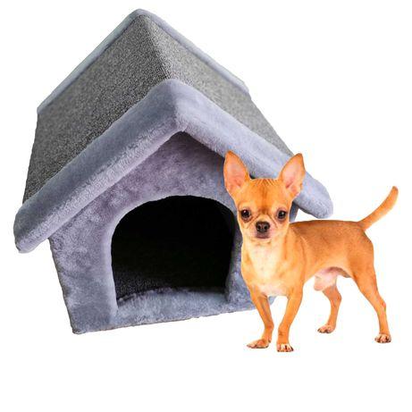 Лежанка домик будка из меха для собаки . Ручная работа. Венеция-619