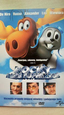 Film DVD Rocky i Łoś Superktoś