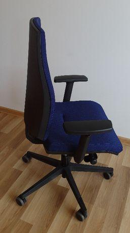Fotel obrotowy krzesło biurowe BEJOT granatowe kilka sztuk