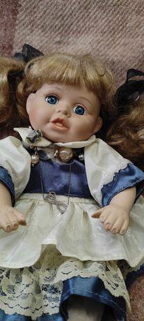 Куколка фарфоровая. Винтаж.