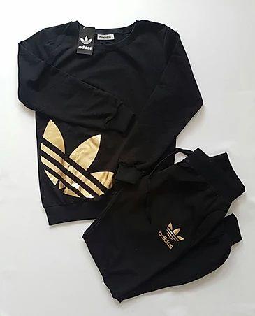 Damskie komplety dresowe nike adidas EA7 spodnie + bluza dres