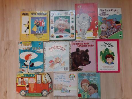Książki dla dzieci i młodzieży po angielsku i niemiecku