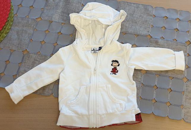 Bluza Snoopy 6-9 mc