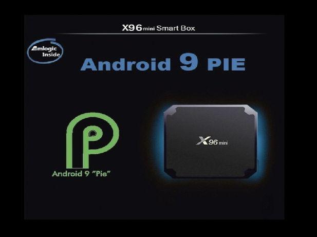 Оригинал X96 MINI 2gb/16gb Android 9 S905w Прошита и Настроена 2020год