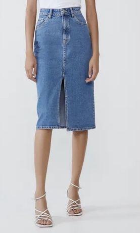 Юбка джинсовая Zara XS