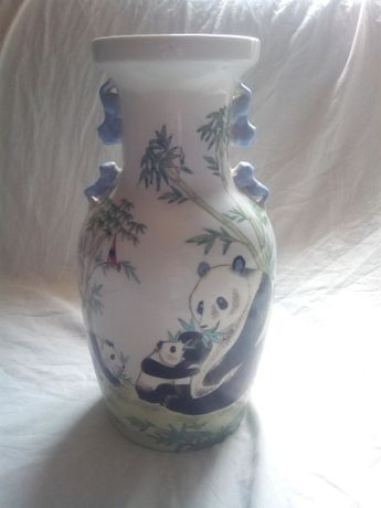 Jarra Grande Porcelana Macau Antiga