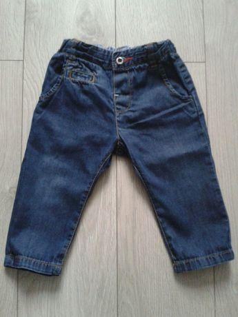 Spodnie jeansy Zara Baby r74
