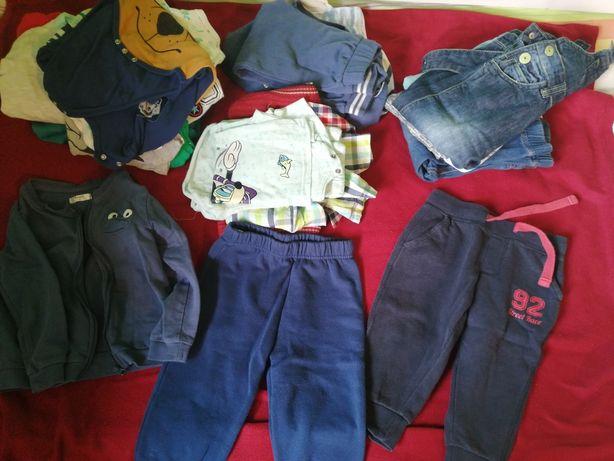 Ubranka na chłopca zestaw