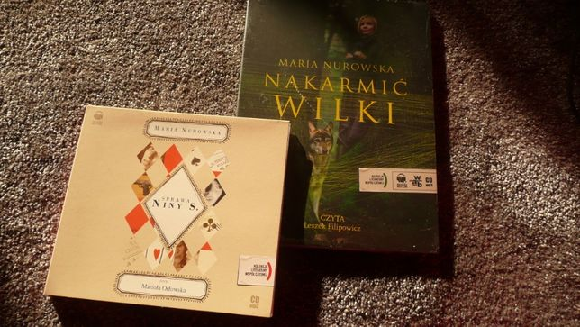 audiobook M. Nurowska Wilki ... Sprawa Niny S.