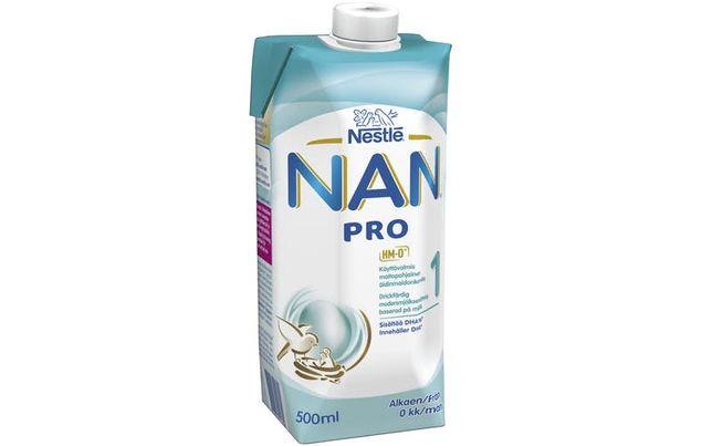 Жидкое детское питание Nan optipro.Нан про