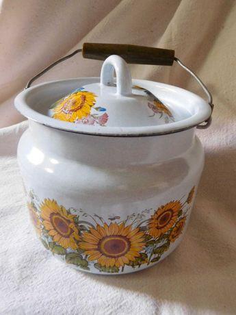 Эмалированная посуда сосуд емкость бидон СССР