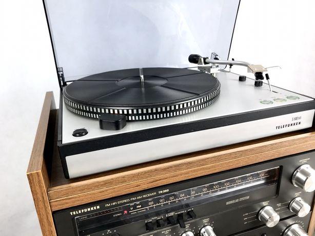 Wieża Telefunken TR 350 TC 650m gramofon S 500
