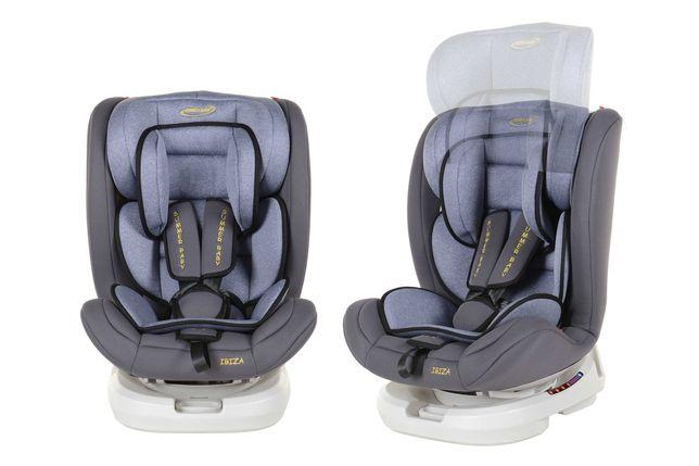 Nowy Fotelik Samochodowy Ibiza Summer Baby Odchylany 0-36 kg