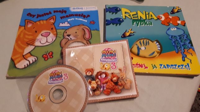 Kołysanki płyta Mini mini 3 z książeczką