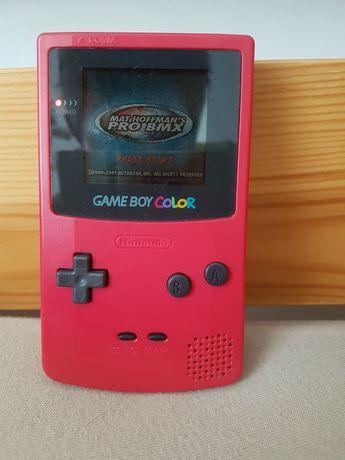Nintendo gameboy color + gra Mat Hoffman's BMX