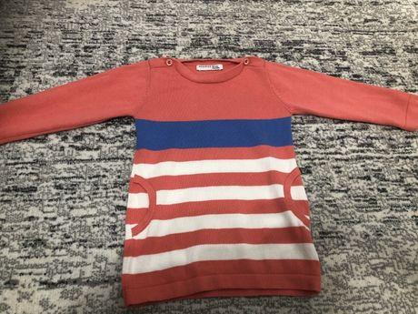 Sweterek sukienka tunika Reserved r 80