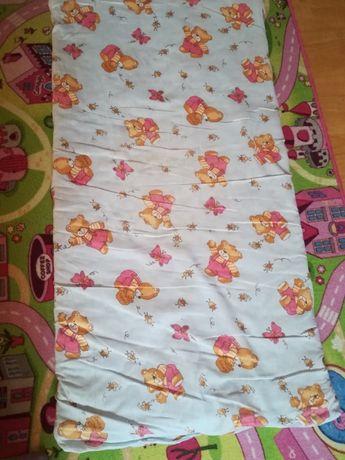 Materac do łóżeczka niemowlęcego