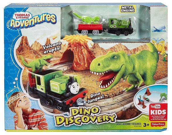 Fisher-Price Tomek i Przyjaciele Adventures Przygoda w Dino-Parku Zest