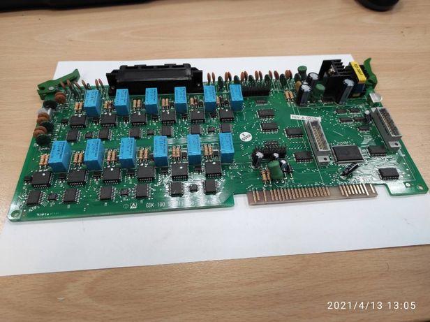 GDK-100/300 SLIBII Плата 12 аналоговых абонентов атс GDK-100
